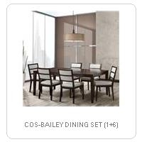 COS-BAILEY DINING SET (1+6)